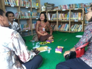 kunjungan perpustakaan kabupaten